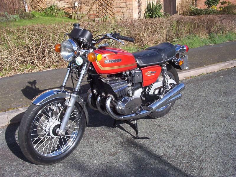 suzuki 380 gt 1972