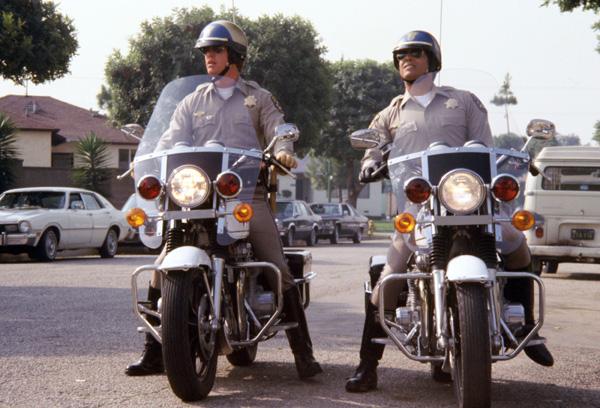 CHiPs tv show image Erik Estrada and Larry Wilcox