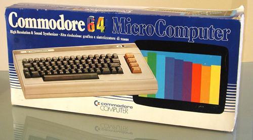 Confezione Commodore 64 vintage