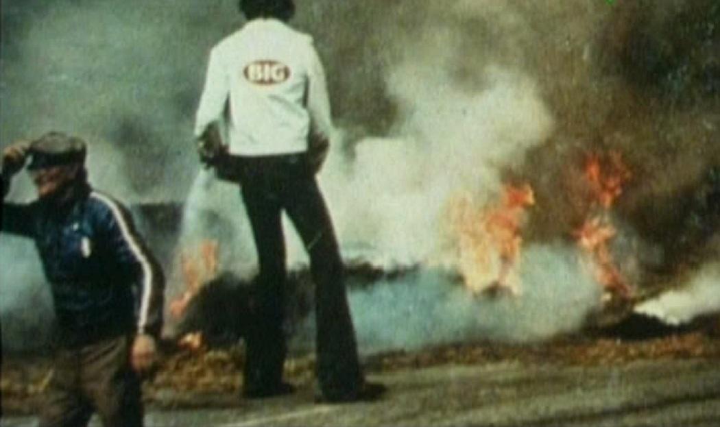 crash incidente mona Pasolini Saarinen