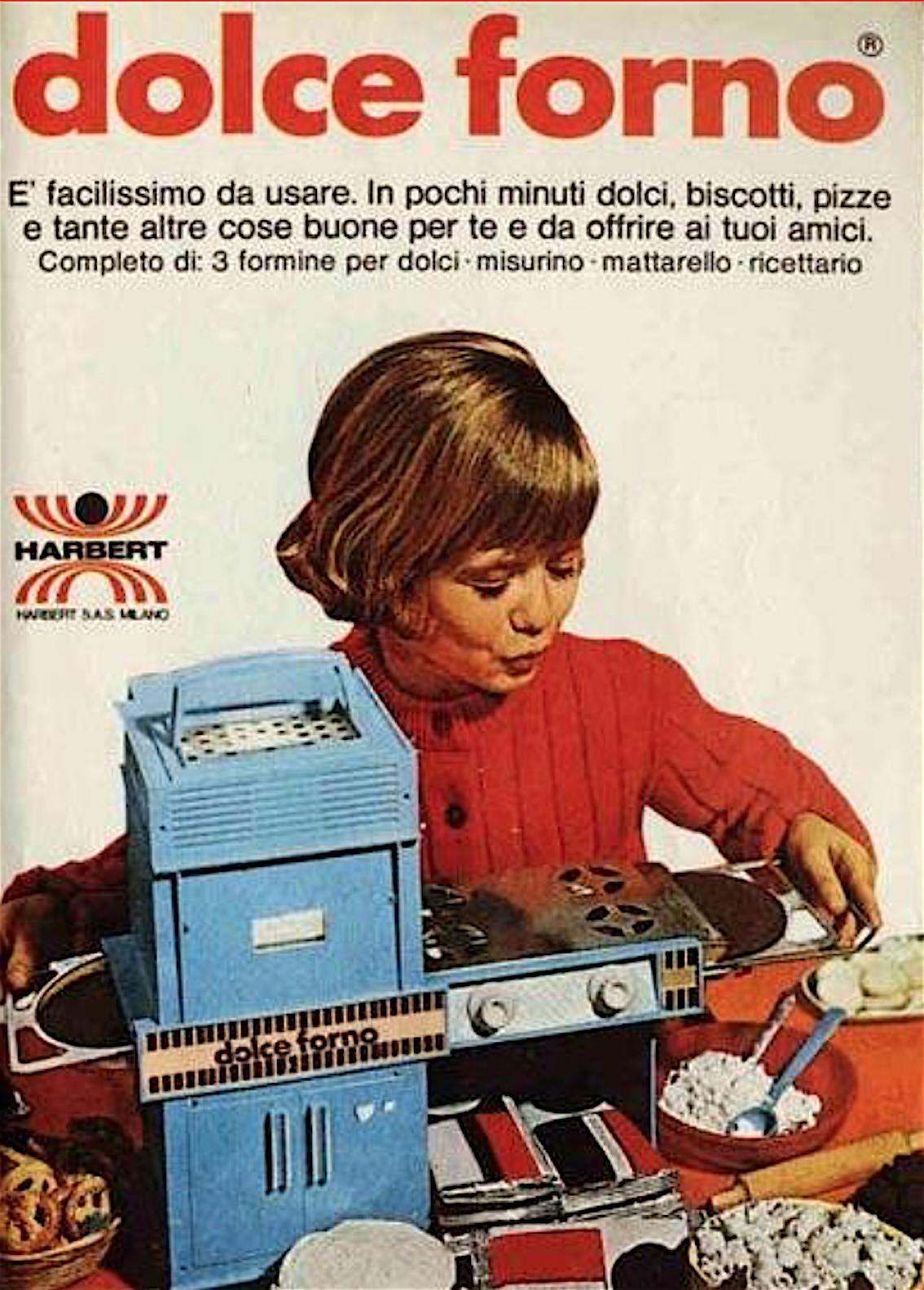 Dolce forno harbert giocattolo vintage curiosando anni 70 - Dolce forno gioco ...