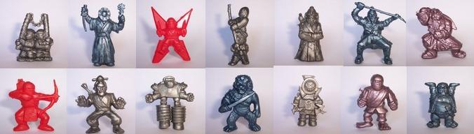 exogini collezione ninja 2 serie