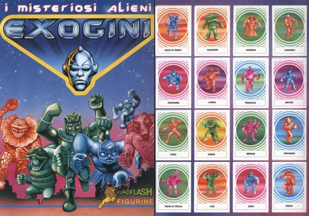 exogini album figurine
