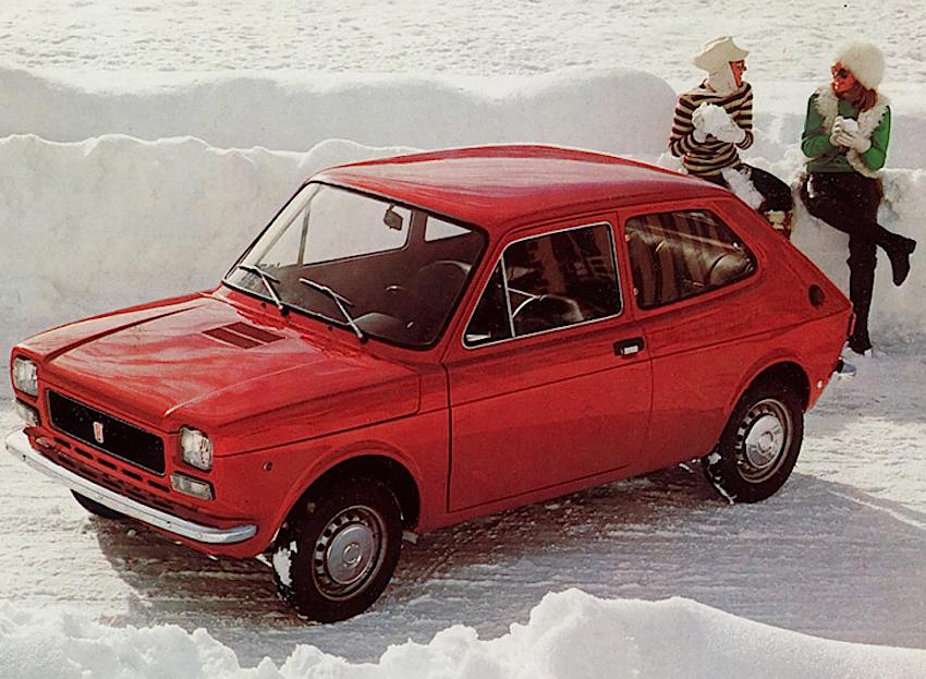 fiat 127 auto dell'anno 1972