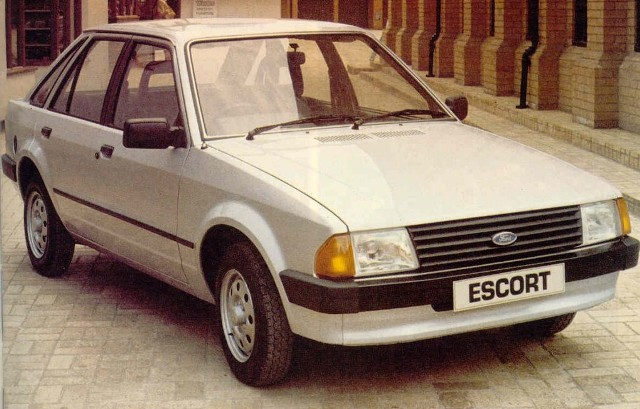 ford escort 1981 auto dell'anno