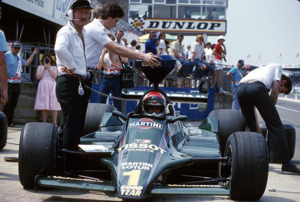 Mario Andretti su Lotus Ford 79 - 1979
