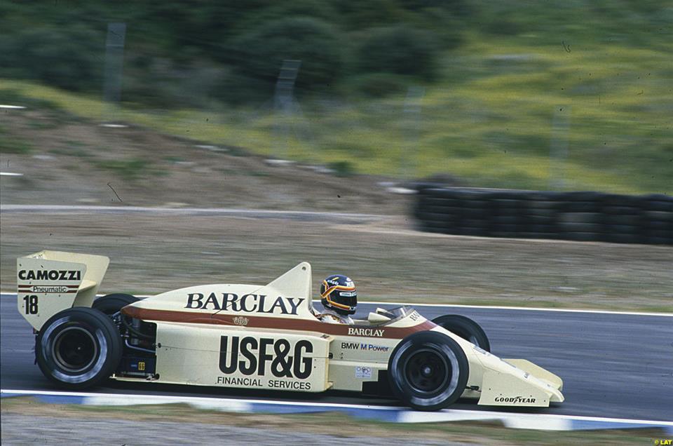 formula-uno-1986-Thierry Boutsen - Barclay Arrows BMW - Arrows A8 -
