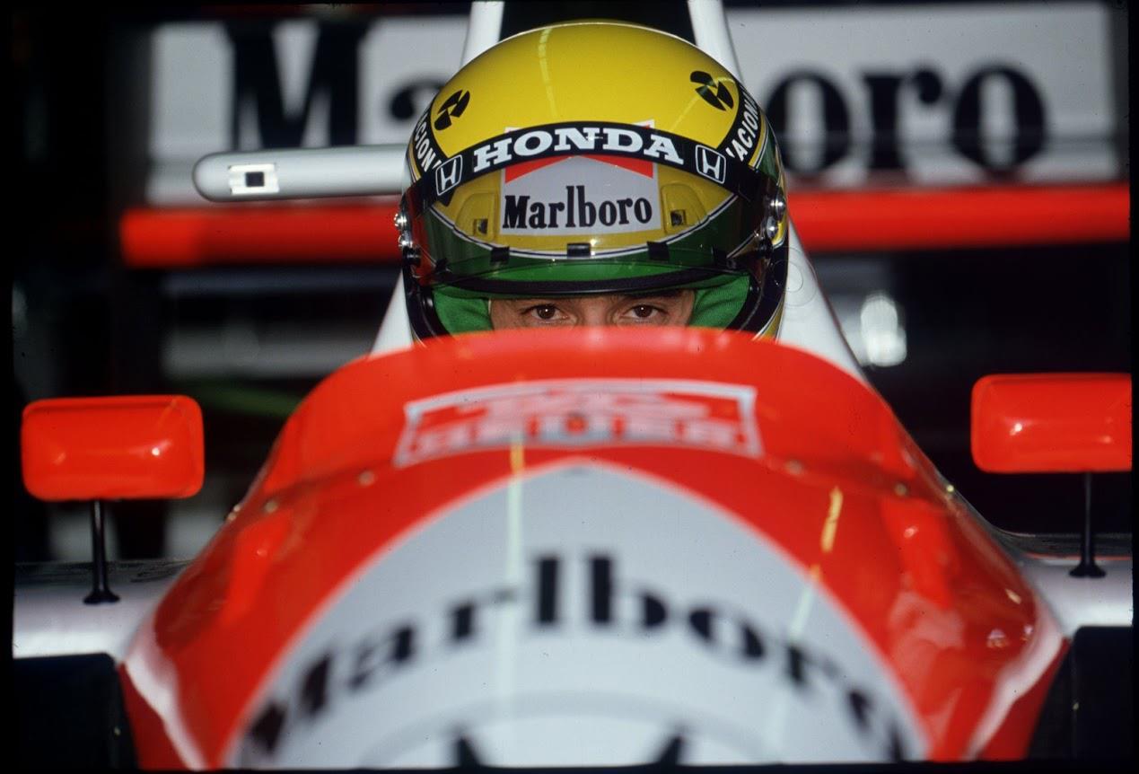 formula-uno-anni-90-1991-Phoenix-Ayrton-Senna-McLaren-MP4-6 Honda RA121E 3,5 V12