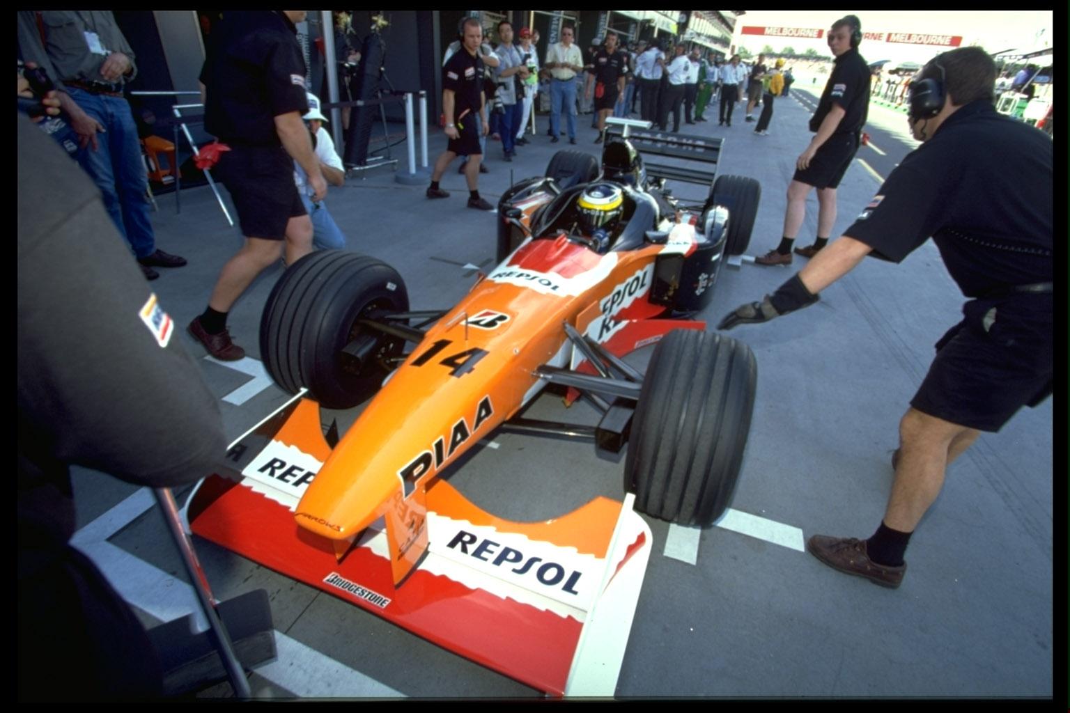 Il debutto di De la Rosa con la Arrows - 1999