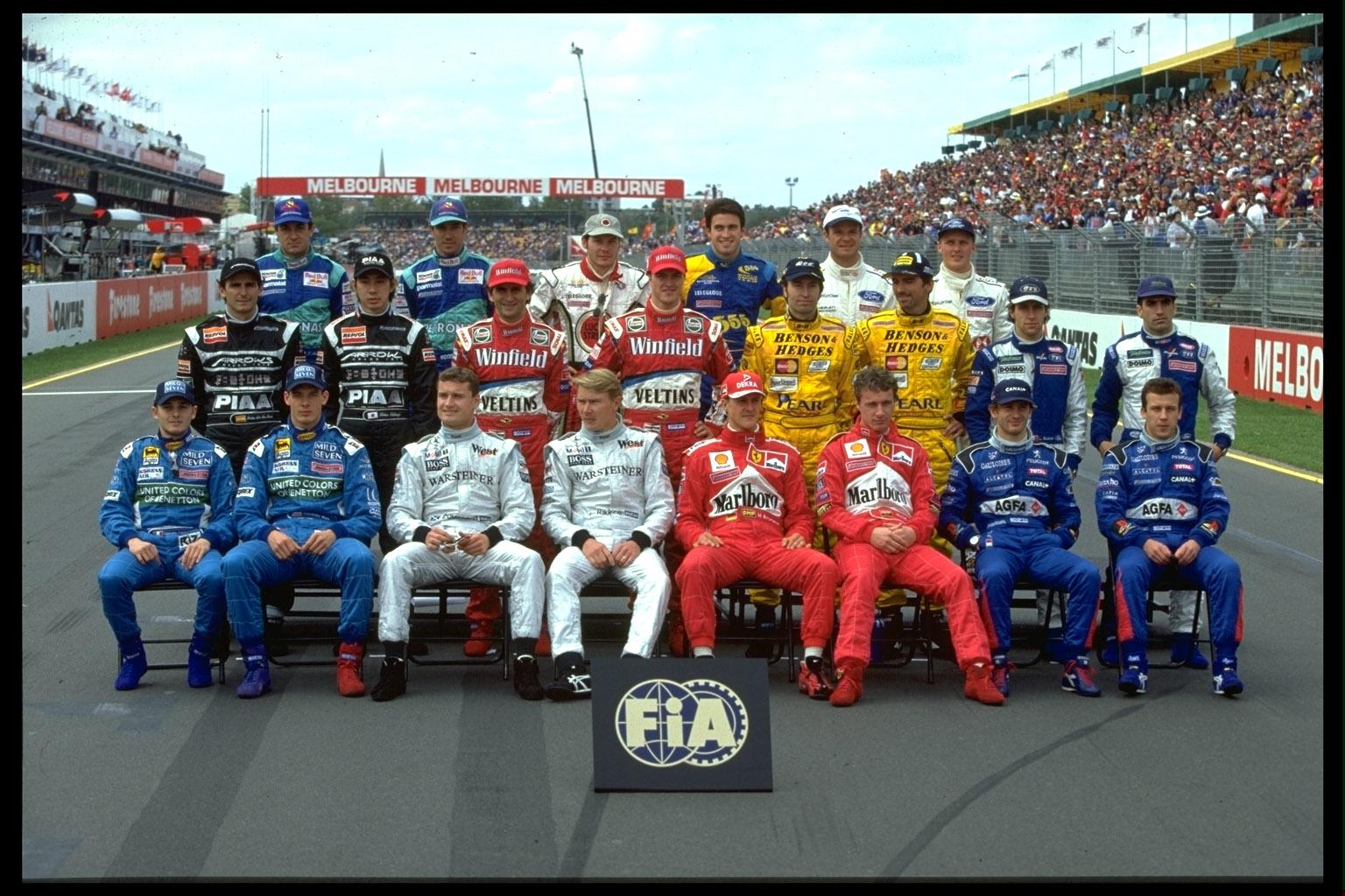 Piloti della stagione 1999