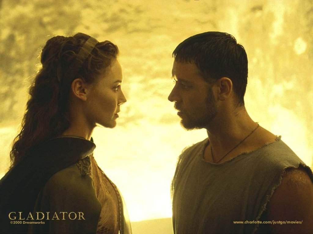 il gladiatore scena amore