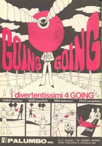 going confezione vintage anni 70