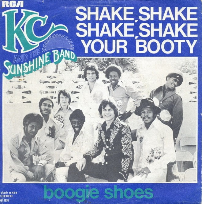 shake your booty copertina disco
