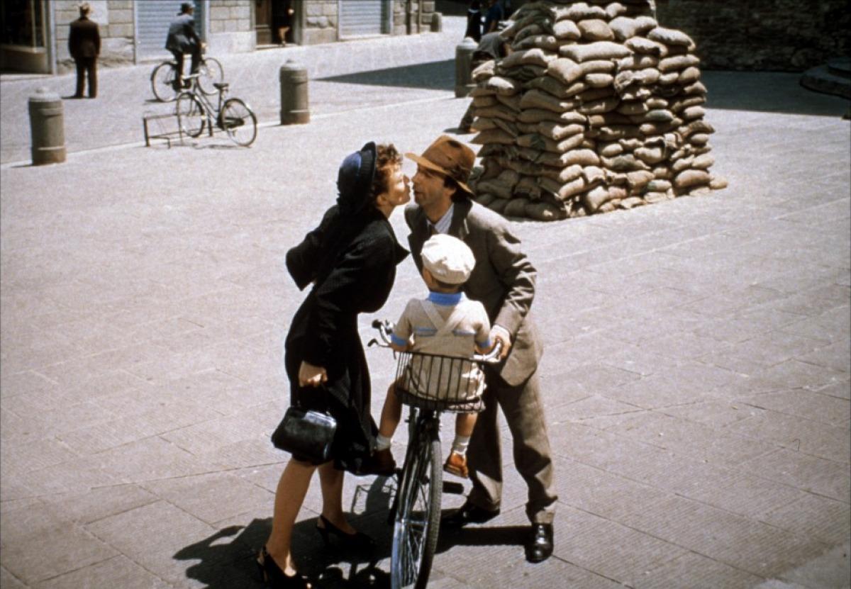 La vita è bella scena bacio