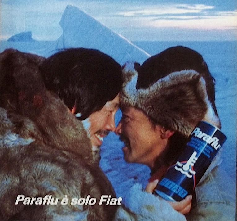 paraflu fiat spot anni 80