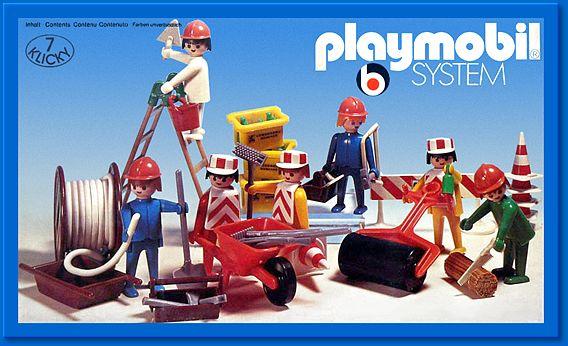 playmobil lavoratori 1976