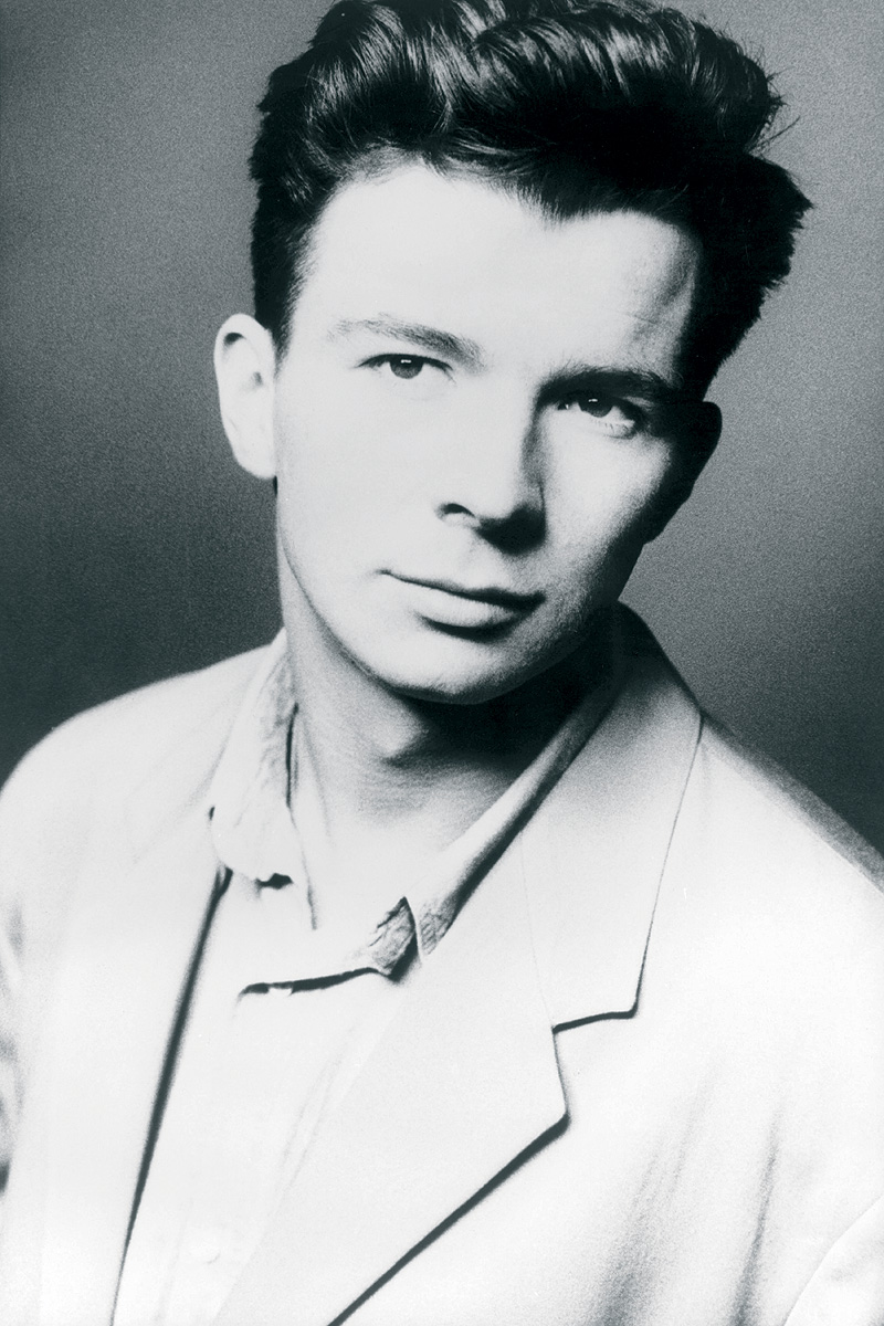 rick Astely never gonna give you up