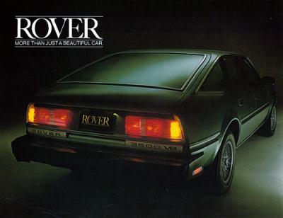 rover 3500 posteriore