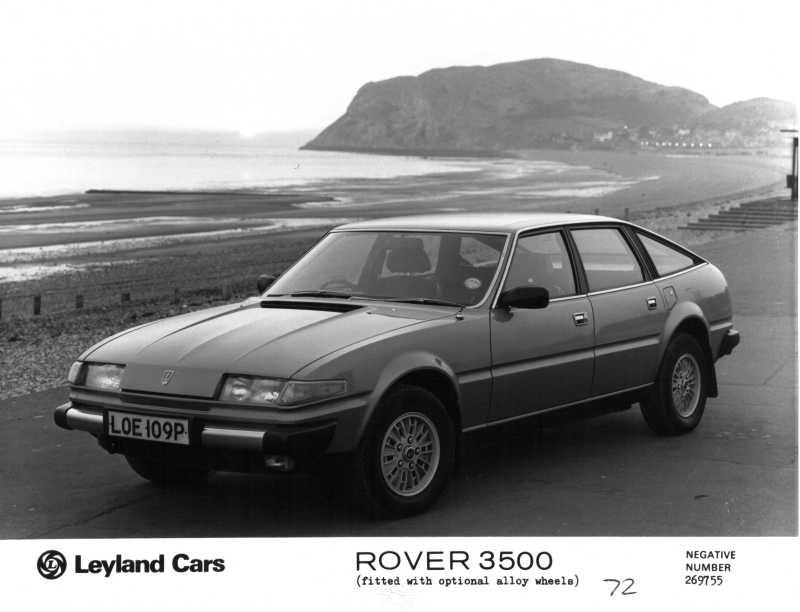 rover 3500 auto dell'anno 1977
