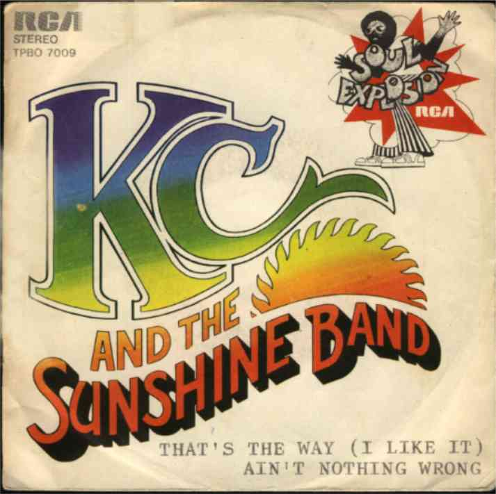 that's the way Kc and the sushine band copertina