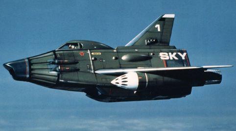 Intercettore Sky One in UFO serie Tv