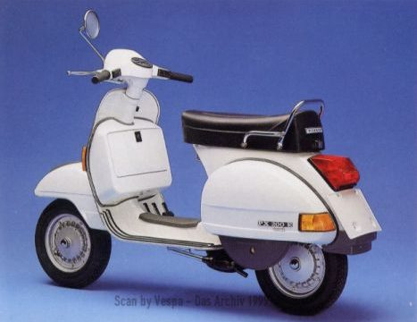 VESPA PX 125 -150 – 200  – Gli Spot – (dal 1977)