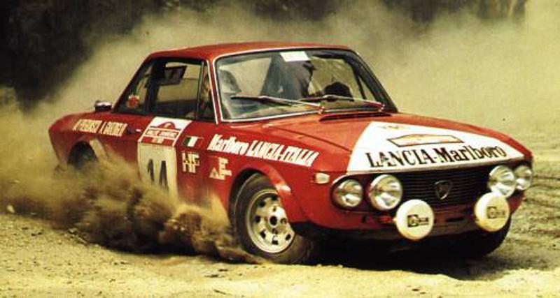 1973 Lancia Fulvia HF Marlboro n2.014 Pregliasco-Garzoglio 07° Sanremo 1973 (a)