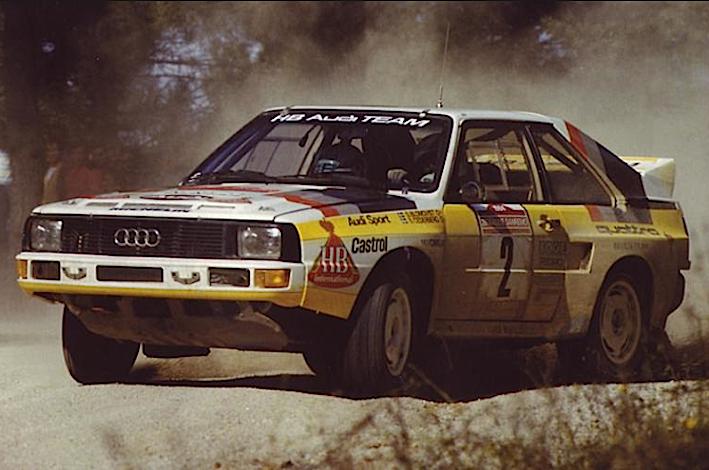 Audi Quattro:Sport mondiale 1984