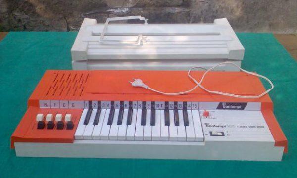 BONTEMPI – Gli strumenti Musicali – (Dagli anni 60)