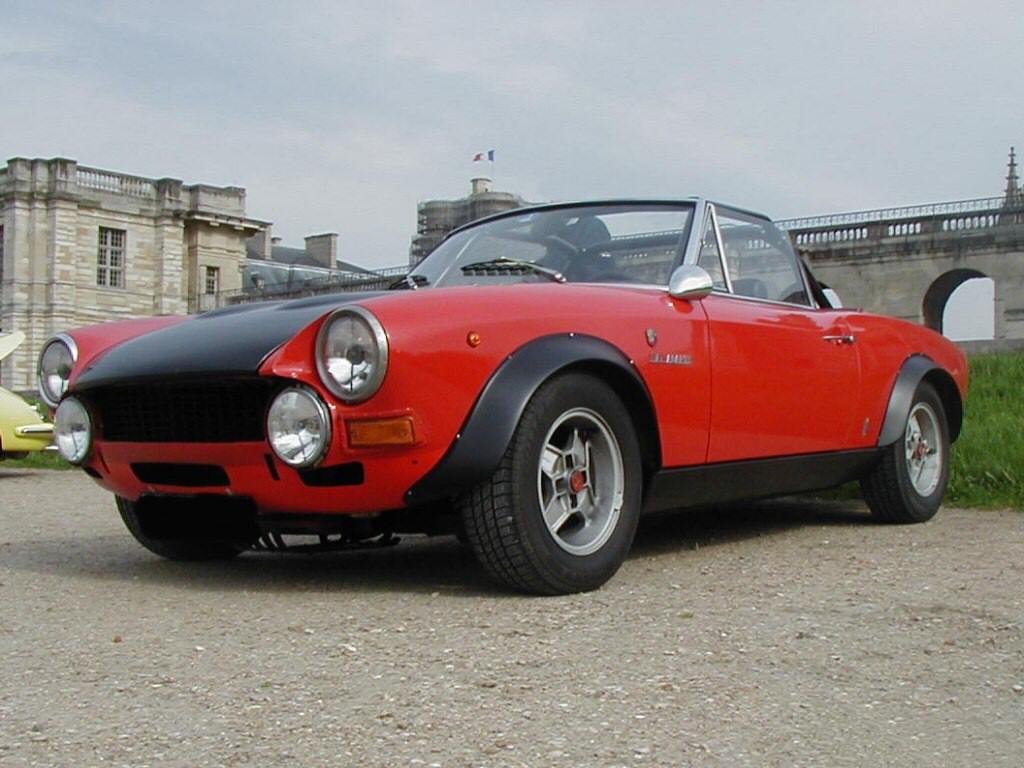 fiat 124 spider abarth rally auto epoca anni 70. Black Bedroom Furniture Sets. Home Design Ideas