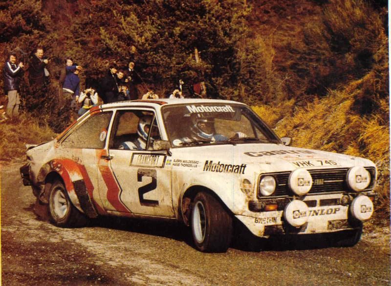 Ford Escort RS del 1979