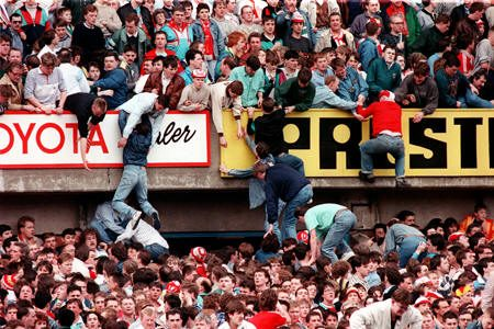 Tragedia STADIO HILLSBOROUGH – (15/04/1989)