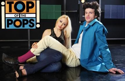 Ivano lita conduttore di top of the pops 2010 con Gaia Ranieri