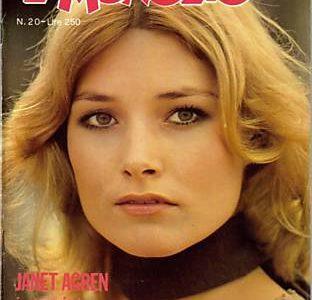 JANET AGREN Mitica attrice anni '70