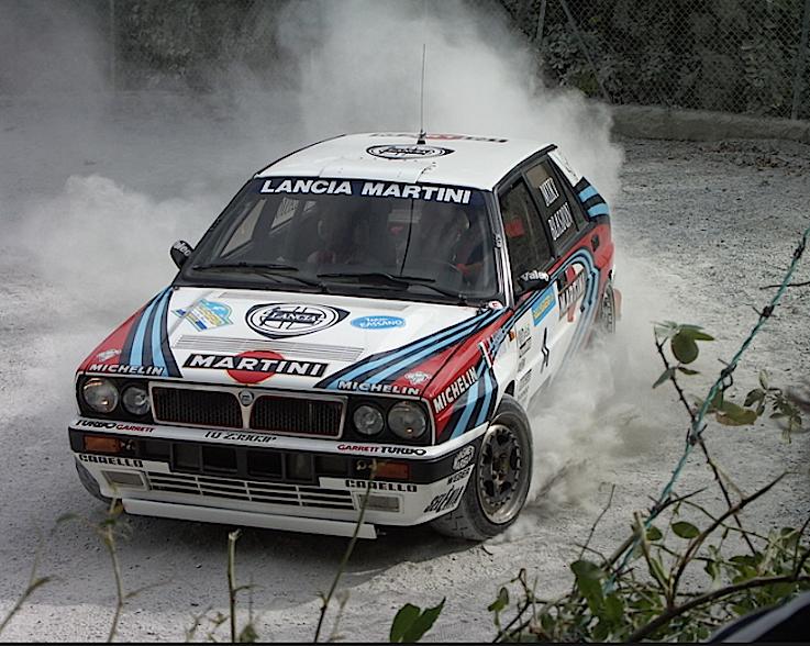 Lancia Delta 4WD:Integrale mondiale 1988