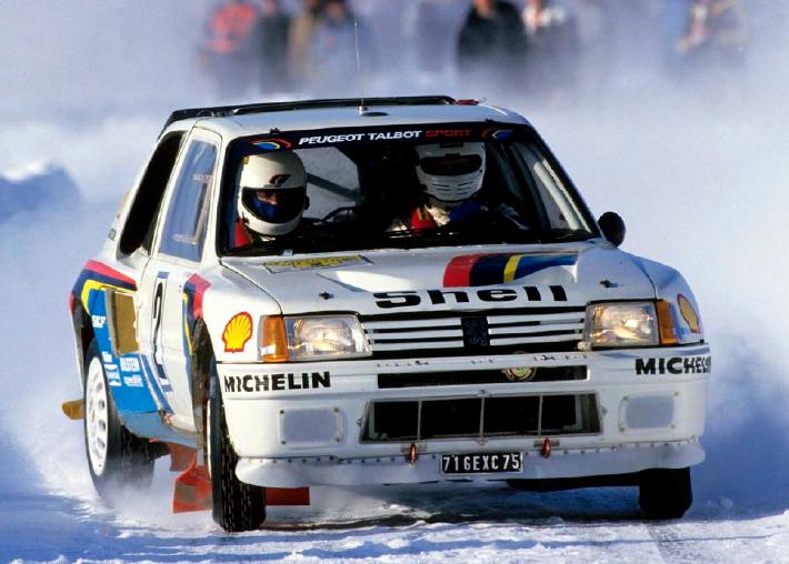 Peugeot 205 Turbo 16 mondiale 1985