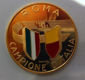 roma scuedetto medaglia