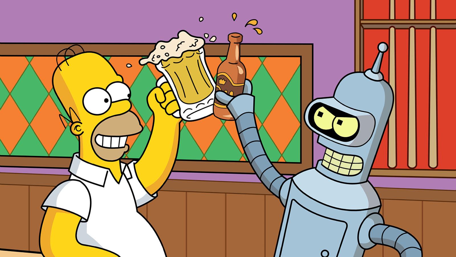 Simpsons_Futurama_Crossover