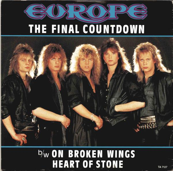 the final countdown copertina