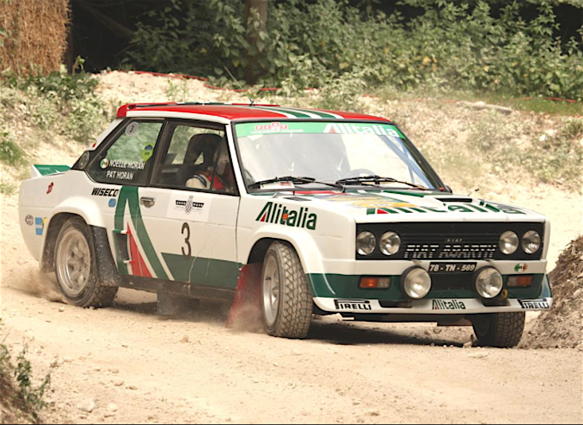 fiat 131 rally campionato mondiale anni 70