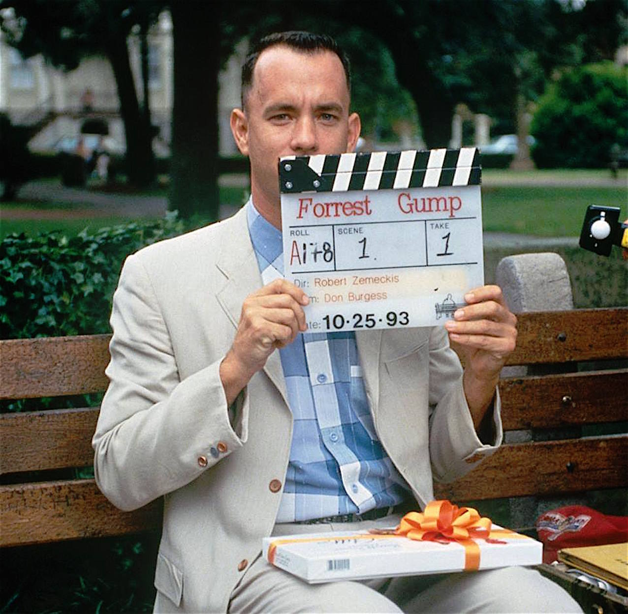 forrest Gump set cinema anni 90