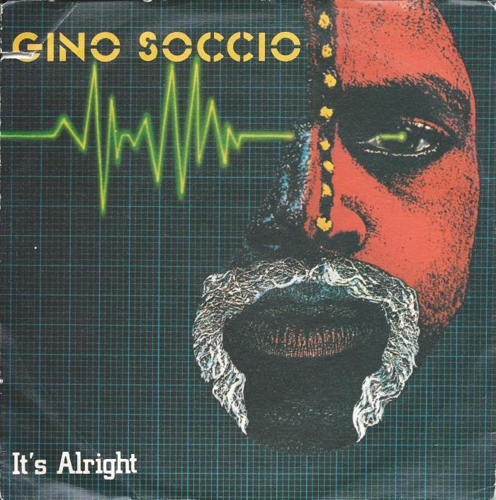 gino soccio its alright atlantic rfc records copertina