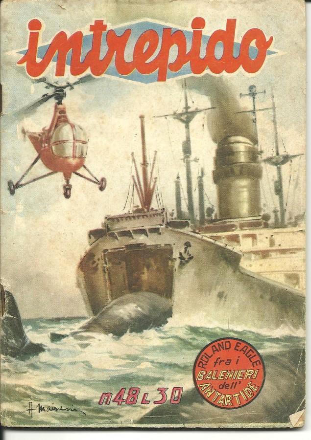 intrepido copertina 1955