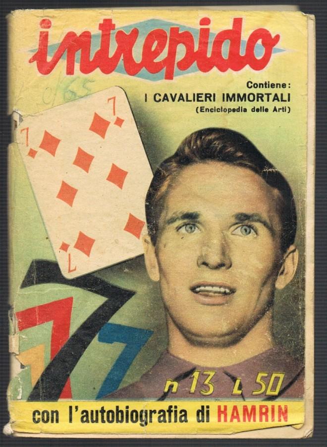 intrepido copertina hamrin anni 60