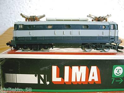 TRENINO LIMA LOCOMOTORE TARTARUGA E444