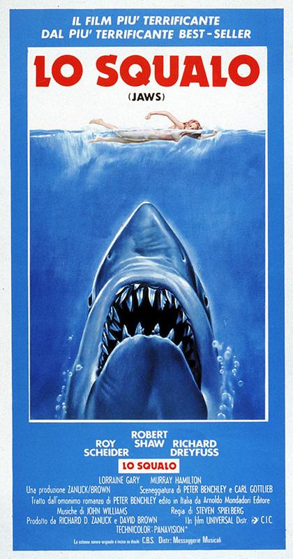 lo squalo locandina