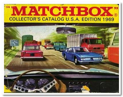 matchbox catalogo 1969