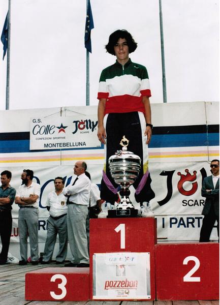 michela fanini campionato italiano 1992