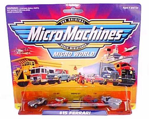 micromachines confezione vintage