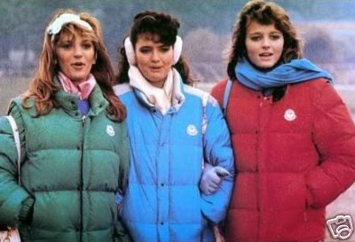 """I """" PANINARI """" – La moda degli anni '80"""